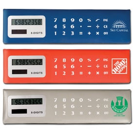 Monogrammed Calc 'N Sticky Pack