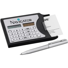 Calculator/Business Card Holder for Advertising
