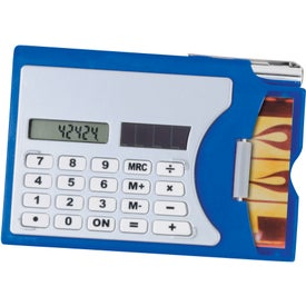 Personalized Calculator/Business Card Holder