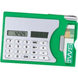 Customized Calculator/Business Card Holder