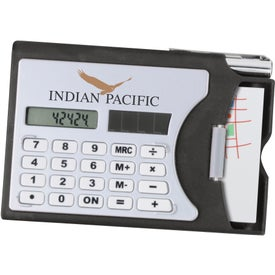 Promotional Calculator/Business Card Holder