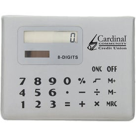 Advertising Calculator Note Caddy