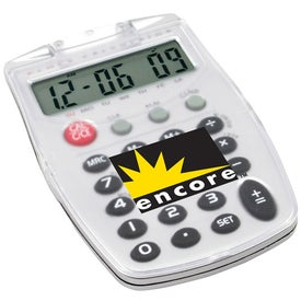 Calculator With Alarm clock for Promotion