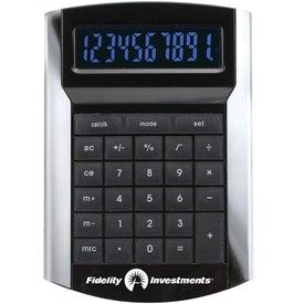 Printed Calculator With Illuminated Display