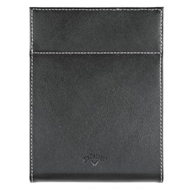 Callaway Leather Fold Up Picture Frame Branded with Your Logo