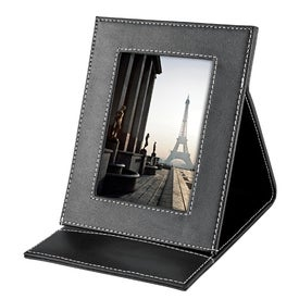 Callaway Leather Fold Up Picture Frame