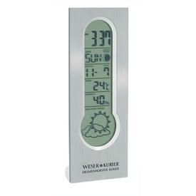 Calore Digital Clock Calendar and Weather Center