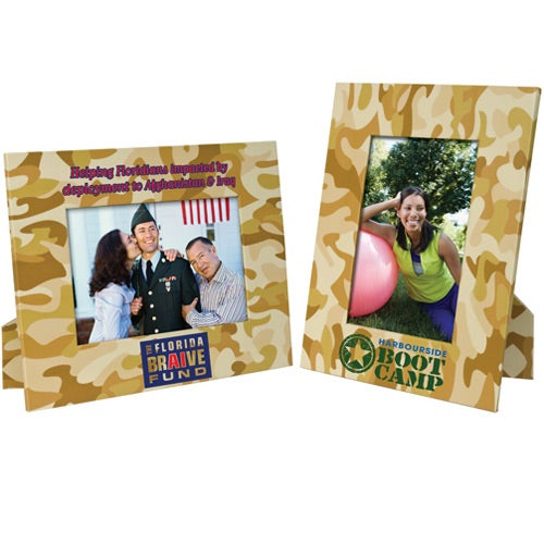 Camouflage Paper Easel Frame