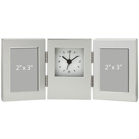 Cardin II Frame and Clock with Your Logo