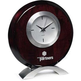 Monogrammed Carpintero Clock