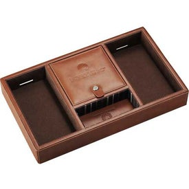 Cutter & Buck Legacy Valet And Charging Station Imprinted with Your Logo