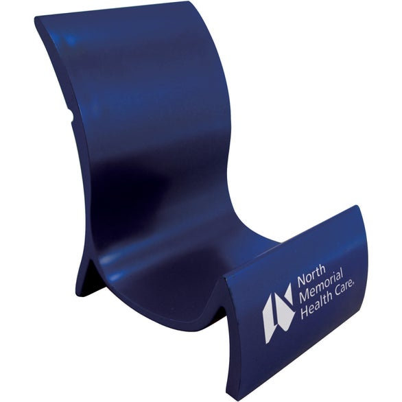 Blue Cell-A-Lounger Phone Stand