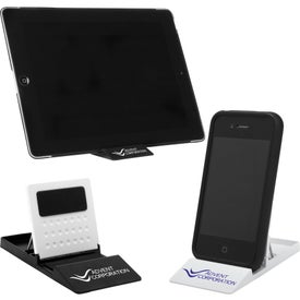 Cell Phone and Tablet Stand for Advertising