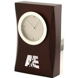 Cherry Wood Desk Clock