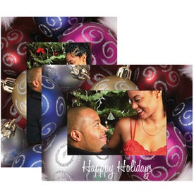 Christmas Paper Easel Frame