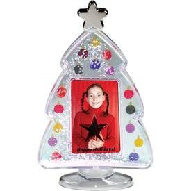Photo Christmas Tree Snow Globe