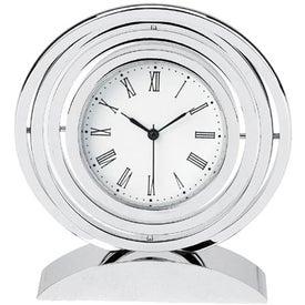 Chrome Spinner Clock for Marketing