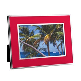 Promotional Chrome Border Picture Frame