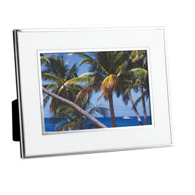 Chrome Border Picture Frame Giveaways