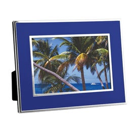 "Chrome Border Picture Frame (4"" x 6"")"