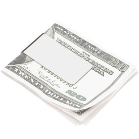 Chrome Money Clip for Your Company