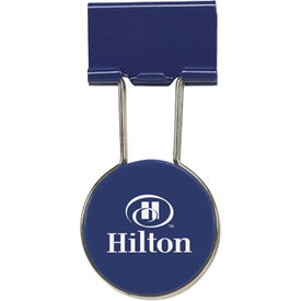 Circle Binder Clip for Marketing