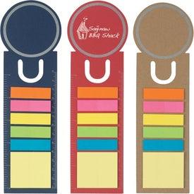 Printed Circle Shape Bookmark