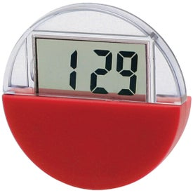Circular LCD Clock And Calendar for your School