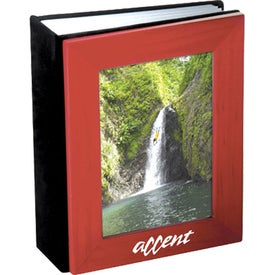 Classic Wood Frame Photo Album for Marketing