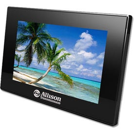 Classic Slim Wide Screen Digital Photo Frame