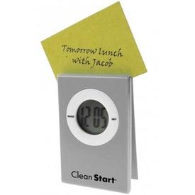 Customized Clips Clock
