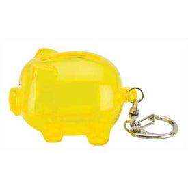 Logo Clip On Mini Pig Money Bank