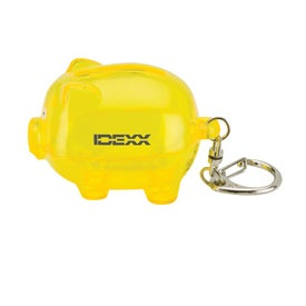 Clip On Mini Pig Money Bank for Advertising