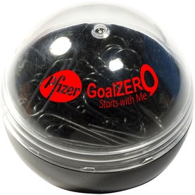 Clip Ball with Your Slogan