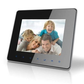 Coby Digital Photo Frame with Multimedia Playback