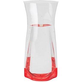 Branded Color Base Vase