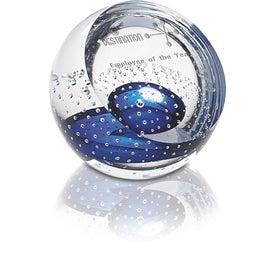 Imprinted Color Splash Award