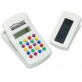 Colorful Calculator Clip for Marketing
