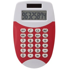 Colorful Pocket Calculator Printed with Your Logo