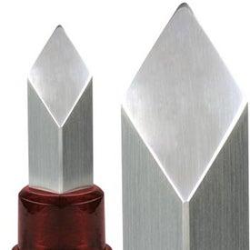 Monogrammed Coluna II Metal Diamond Award
