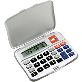 Compact Calculator with Your Slogan