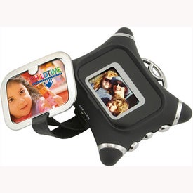 Imprinted Compact Digital Photo Frame