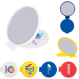 Compact Round Mirrors for Customization