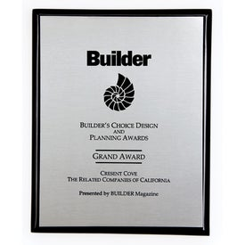 Connection Plaque Black for Marketing