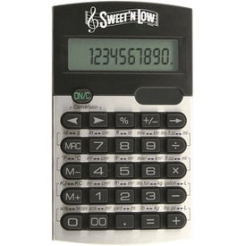 Conversion Calculator Printed with Your Logo