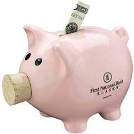 Custom Corky Piggy Bank