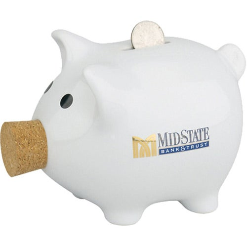 Corky Piggy Bank