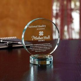 Corsair Jade Circle Award Printed with Your Logo