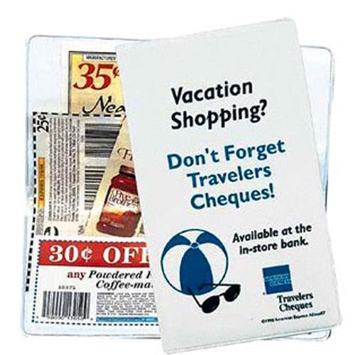 coupon holder custom desktop items 0 45 ea