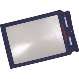 Logo Cover Sheet Magnifier